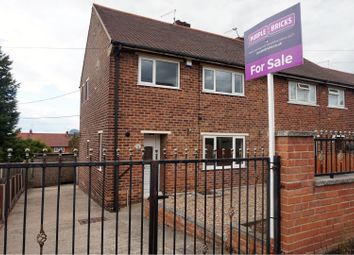 Thumbnail 3 bed semi-detached house for sale in Windmill Avenue, Doncaster