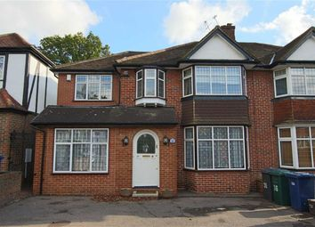 Thumbnail 4 bed semi-detached house for sale in Copthall Drive, Mill Hill, London
