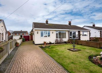 Thumbnail 2 bed semi-detached bungalow for sale in Chapel Garth, Skipsea, Driffield
