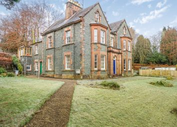 Thumbnail 2 bed flat for sale in Well Road, Moffat