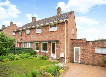 Thumbnail 2 bed semi-detached house for sale in Queens Way, Marlborough, Wiltshire