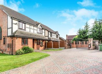 Thumbnail 4 bed detached house for sale in Noak Hill, Romford, Essex