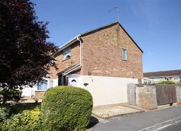 Thumbnail 2 bed end terrace house for sale in Meadow Close, Chippenham, Wiltshire