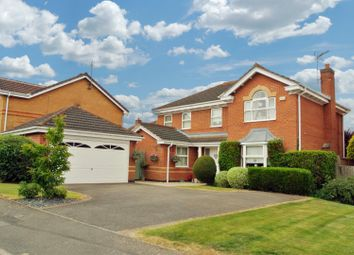 Thumbnail 4 bed property for sale in Franklin Way, Whetstone, Leicester