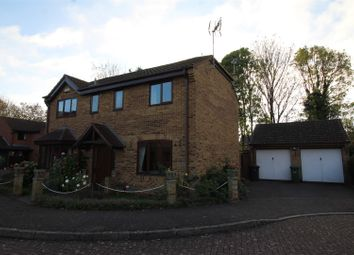 Thumbnail 4 bedroom detached house for sale in Barford Close, Orton Longueville, Peterborough