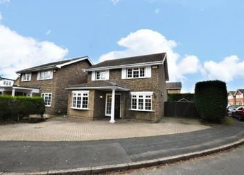 Thumbnail 4 bed detached house to rent in Ashbury Drive, Blackwater, Camberley, Surrey