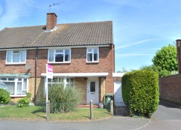 Thumbnail 3 bed semi-detached house for sale in Leveret Close, Leavesden, Watford