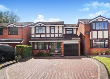 Thumbnail 4 bed detached house for sale in Fenbourne Close, Rushall, Walsall