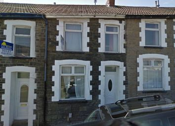 Thumbnail 1 bed terraced house to rent in Brook Street, Treforest, Pontypridd