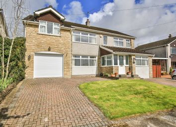 Thumbnail 5 bed detached house for sale in Cotswold Avenue, Lisvane, Cardiff