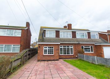 Thumbnail 4 bed semi-detached house for sale in Deepwater Road, Canvey Island
