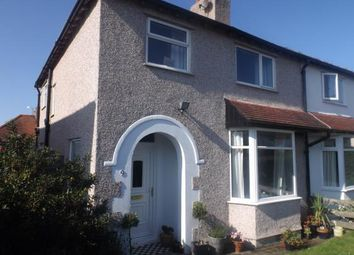 Thumbnail 3 bed semi-detached house for sale in Park Drive, Deganwy, Conwy, North Wales