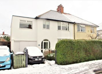Thumbnail 5 bedroom semi-detached house for sale in Leyland Road, Harrogate