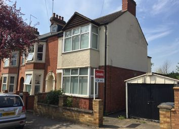 Thumbnail 3 bedroom end terrace house for sale in Boughton Green Road, Kingsthorpe, Northampton
