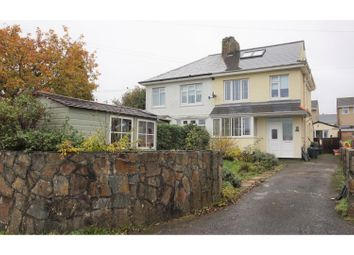Thumbnail 4 bedroom semi-detached house for sale in North Park Villas, Saltash