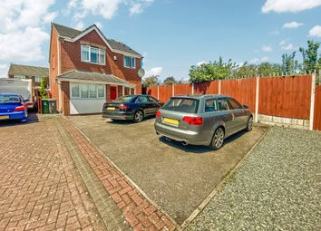 Thumbnail 4 bed detached house for sale in May Close, Leicester, Leicestershire