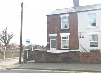 Thumbnail 2 bed end terrace house to rent in The Green, Swanwick, Alfreton