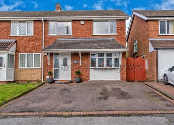 Thumbnail 4 bed semi-detached house for sale in Bridge Avenue, Walsall