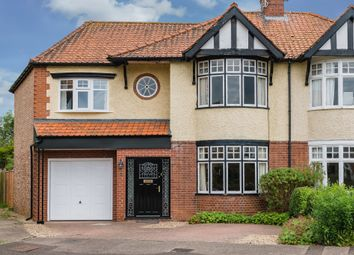 Thumbnail 4 bed semi-detached house for sale in Woodfield Road, Peterborough