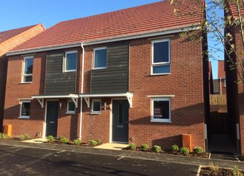 Thumbnail 3 bedroom semi-detached house for sale in Tithe Barn, Tithe Barn Link Road, Monkerton, Exeter