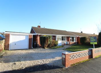 Thumbnail 3 bed detached bungalow for sale in Lacon Drive, Wem, Shrewsbury