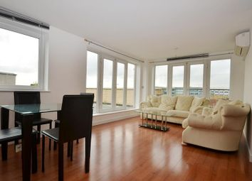 Thumbnail 3 bed flat to rent in Riverbank Point, Uxbridge