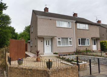 Thumbnail 2 bedroom semi-detached house for sale in Lewis Road, Llandough, Penarth