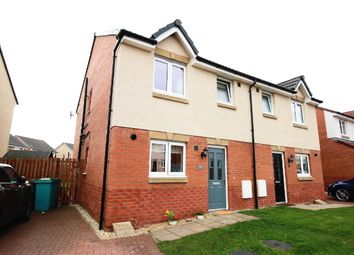 Thumbnail 3 bed semi-detached house for sale in Cambridge Crescent, Crystal Park, Airdrie