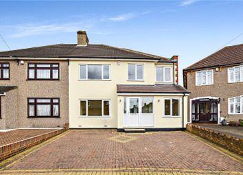 Thumbnail 5 bed semi-detached house for sale in Barrington Road, Bexleyheath, Kent