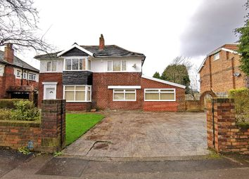 Thumbnail 5 bed detached house for sale in Birchfields Road, Manchester