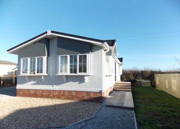 Thumbnail 2 bed mobile/park home for sale in Congdons Shop, Launceston