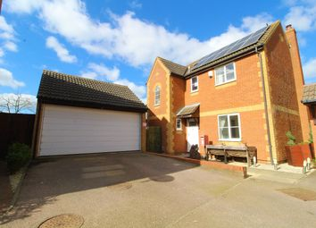 Thumbnail 4 bed detached house for sale in Dane Lane, Wixams, Bedfordshire