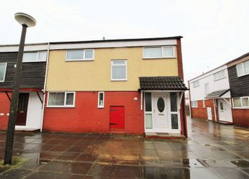 Thumbnail 3 bed end terrace house to rent in Wheatacre, Skelmersdale
