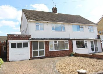 Thumbnail 3 bed semi-detached house for sale in Rupert Brooke Road, Rugby