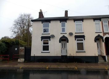 Thumbnail 2 bedroom terraced house to rent in Woodbridge Road, Ipswich