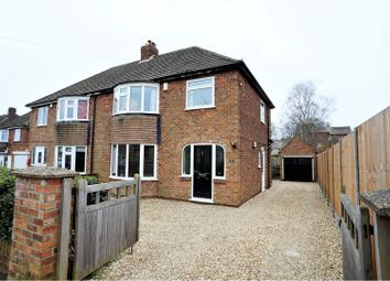 Thumbnail 3 bed semi-detached house for sale in Broadway, Lincoln