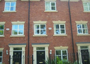 Thumbnail 3 bed town house to rent in Greenwood Road, Wythenshawe, Manchester