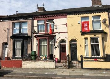 Thumbnail 3 bed terraced house for sale in 49 Wordsworth Street, Bootle, Merseyside