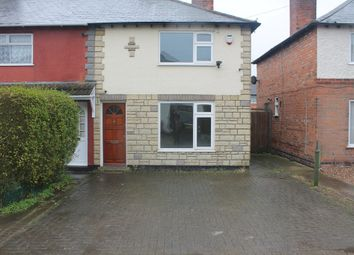 Thumbnail 2 bed semi-detached house to rent in Matlock Avenue, Wigston, Leicester
