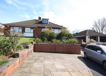 Thumbnail 2 bedroom semi-detached bungalow to rent in Elm Close, Kidsgrove, Stoke-On-Trent