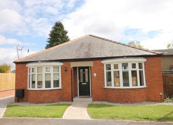 Thumbnail 3 bedroom detached bungalow for sale in Brindlegate, Pocklington, York