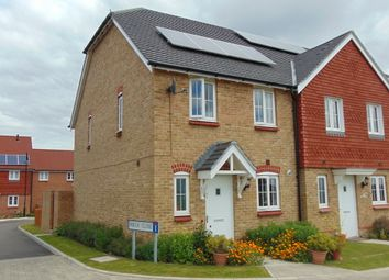 Thumbnail 3 bedroom semi-detached house to rent in Jefferson Close, Leacon Road, Ashford