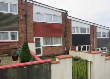 Thumbnail 3 bed terraced house for sale in Lundy Close, Plymouth
