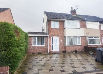 Thumbnail 4 bed semi-detached house for sale in Marians Drive, Ormskirk
