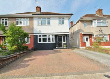 3 bed semi-detached house for sale in Lynwood Drive, Collier Row, Romford RM5