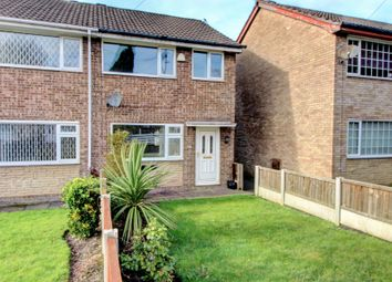 Thumbnail 3 bedroom end terrace house for sale in Howden Close, Reddish, Stockport
