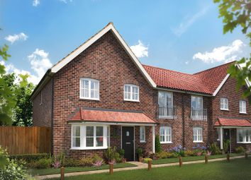 Thumbnail 4 bed semi-detached house for sale in Dunnetts Close, Ashill, Thetford