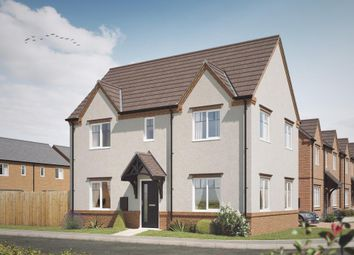 Thumbnail 3 bed detached house for sale in Acresford Road, Overseal, Swadlincote