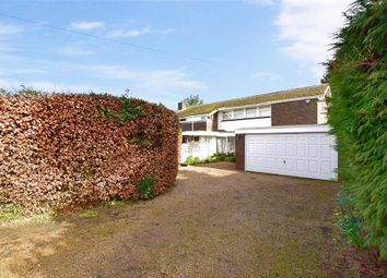 Thumbnail 4 bed detached house for sale in Church Road, Offham, West Malling, Kent
