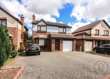 Thumbnail 4 bed detached house for sale in Coleridge Road, Billingham